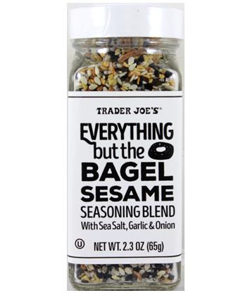 trader joe's seasoning everything but the bagel