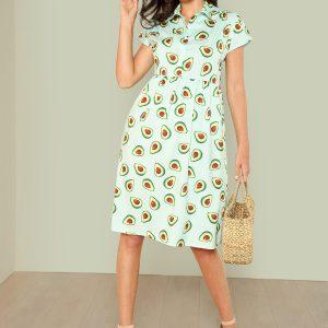 avocado-smock-dress