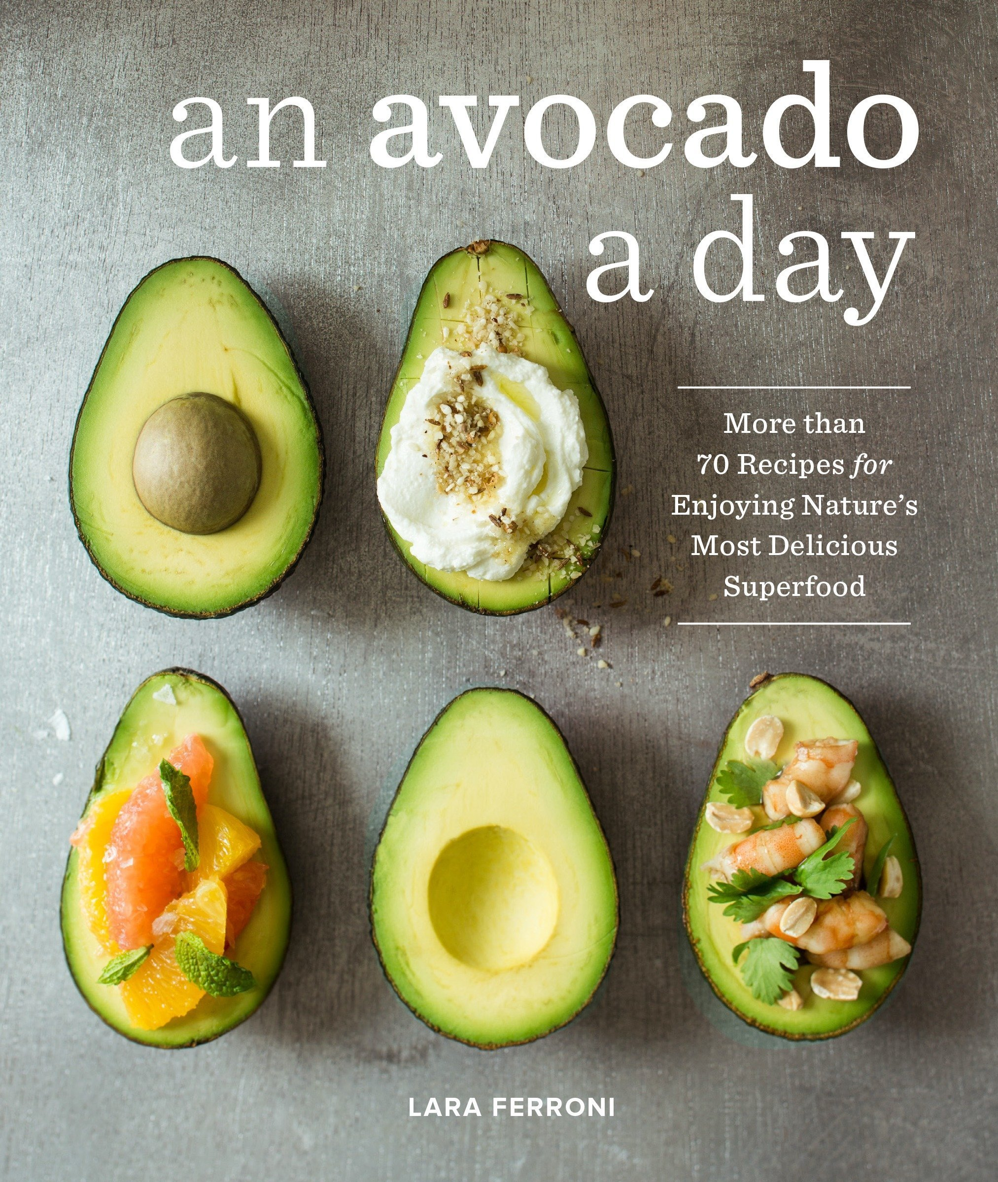 an avocado a day book
