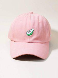 Avocado Hat Pink 2