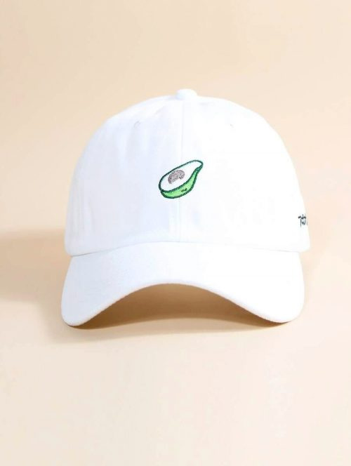 Avocado Hat White 2