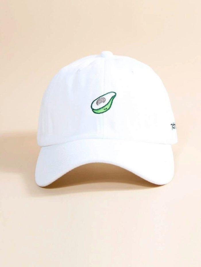 Avocado Hat White 2