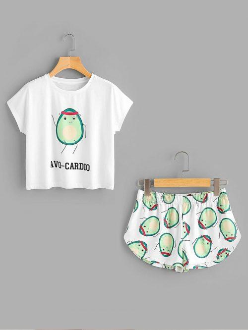 avo cardio pajamas 1
